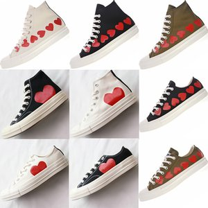 Wholesale big eyes resale online - 1970s Big Eyes Play Chuck Canvas Shoes Multi Heart s Hi Classic Jointly Name skateboard Trainers Casual Sport Sneakers