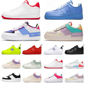 Wholesale red bowls for sale - Group buy One Shadow running shoes mens women utility white black Orange red trainers flax wheat blue pink Women sports sneakers