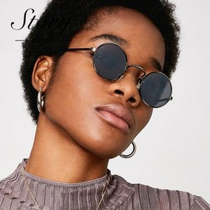 Wholesale story sunglasses for sale - Group buy STORY Vintage Retro Metal Round Sunglasses Women Brand Designer Hip Hop Tiny Round Sun Glasses Men Mirror Shades ST471