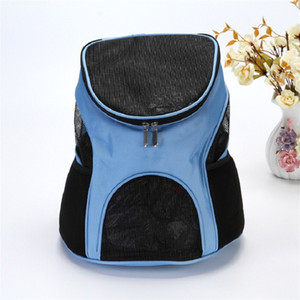 Wholesale carriers for dogs resale online - Gauze Dog Carrier Front Chest Cloth Backpack Carriers Outdoor Travel Durable Portable Shoulder Bag For Dogs Cats rs UU