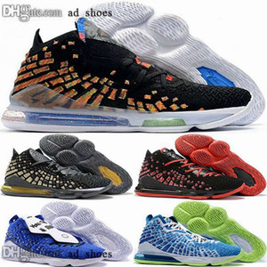 Wholesale lebron sneakers for sale - Group buy 12 white chaussures trainers new arrival children lebron men james XVII lebrons Sneakers basketball eur women size us shoes