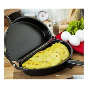 Wholesale stove top for sale - Group buy Nonstick Omelet Egg Pan Poacher Cookware Stove top Family Kitchen Tool Use Egg Frying P jlltHF bdegarden