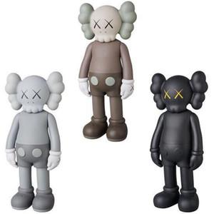 20CM mini Doll design modern art smlll lie Original Fake companion toy Action Figures PVC Graffiti Action toy figure statue Luminous KAWS