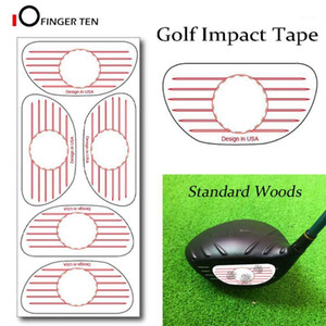 Wholesale drivers testing for sale - Group buy New Golf Swing Trainer Impact Tape Target Sticker Labels Driver Woods Sweet Dot Test Paper for Swing Practice1