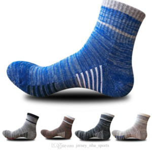 Wholesale fishing rode for sale - Group buy 21 New Arrival Outdoor Sports Socks Sweat Absorption Comfortable Casual Cotton Socks Hiking Riding Climbing Thick Bottom Stockings M165Y