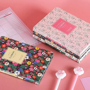 Wholesale weekly plan for sale - Group buy 2020 Monthly Daily Time Plan Flowery Weekly Planning Supplies Undated Planner Notebook Agenda Stationery Memo Organizer A5 Kxcgv