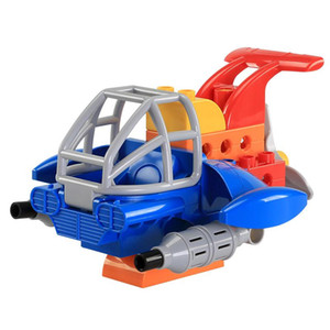 Wholesale block planes resale online - 12pcs DIY Plane Bricks Children Educational Toys Big Particle Building Block Mini Fighter Model Creative Intelligence Gift For Boys Girls