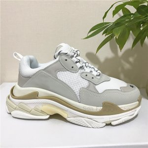 Wholesale made sneakers resale online - Top Quality Men Women White Black Pink Triple S Low Make Old Sneaker Combination Soles Boots Mens Womens Shoes Sports Casual Shoe Size