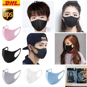 US STOCK, DHL Cycling Face Masks Designer Reusable Unisex Cotton Mouth Mask Outdoor Sports Running Anti-Dust Mask Kids Adult Mask FY9041
