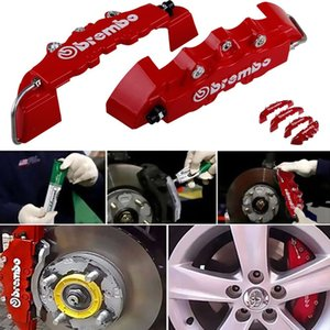 Wholesale auto caliper brake for sale - Group buy 2PCS ABS Truck D Car Universal Disc Brake Caliper Cover Front Rear Auto Universal Kit Decoration Modification Set for Inch Over Wheel