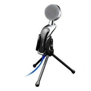 Wholesale microphone sf resale online - SF B Professional Sound USB Condenser Microphone Podcast Studio For PC Laptop Chatting o Recording Condenser KTV Mic
