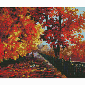 Wholesale easy canvas painting for sale - Group buy Canvas painting cross stitch kit printed patterns hobby embroidery beginner easy accessories for needlework home decoration