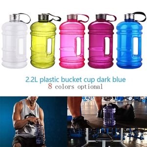 Wholesale gallon water bottles for sale - Group buy 8 Colors L Large Capacity Water Bottles Outdoor Sports Gym Half Gallon Fitness Training Camping Running Workout