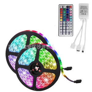 Wholesale controller sales resale online - Discoloration LED Lights Key Infrared Controller Lamp New RGB Light Strip Fashion Room Party Gift Hot Sale cx P2