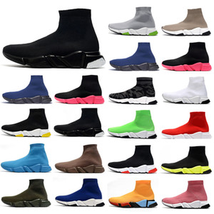 ayakkabı çorapları toptan satış-chaussures scarpe zapatos sock zapatilla baskets femmes hommes balenciaga balenciaca balanciaga speed socks sneakers men women shoes