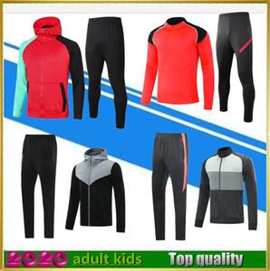 2020 2021 kids soccer tracksuit del Chandal 20 21 men football tracksuit Camiseta De Fútbol survetement foot chandal futbol jogging set