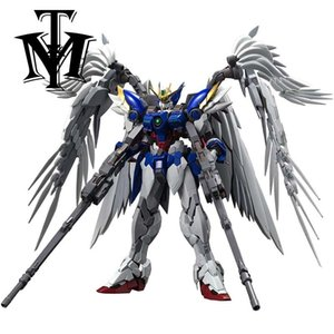 Wholesale wing electronics for sale - Group buy Anime Daban Model MG XXXG W0 Wing am Zero Assembly Electronic manual Robot Model with Bracket Action Figure Toy