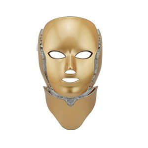 Wholesale light therapies resale online - Portable PDT Led Therapy Mask seven Colors Pdt Led Light Portable Face mask with led electronic salon and spa use machine easy to operate