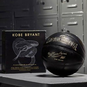 Wholesale basketball balls resale online - New Spalding K Black Mamba Merch basketball Commemorative edition PU wear resistant serpentine ball size