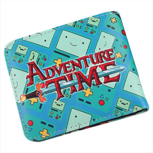Wholesale time holder resale online - Id Sale Holder Coin Card Bi Wallet Time Adventure Hot Mens Purse Cash Ckime Cartoon Fold Bmo Credit Uurjr