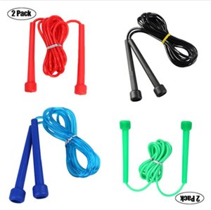 Wholesale jumping cables for sale - Group buy Plastic Crystal Jump Skipping Ropes Cable Steel Adjustable Fast Speed HIP PVC Handle Jump Ropes Crossfit Training Boxing Exercises GWE4445