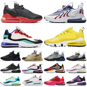 Wholesale man summer shoe resale online - 2020 react ENG s men women running shoes bauhuas Right Violet USA Bright Orange outdoor mens womens trainers sports sneakers runners