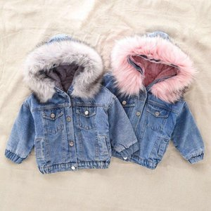 Wholesale girl's jacket for sale - Group buy 2020 New Denim Jacket for Girl s Toddler Children AUTUMN WINTER Outerwear Fashion Outfits Kids Jacket Girl Coats Kids Clothes1
