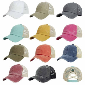 Wholesale trucker caps women resale online - Woman Baseball Hat Visor Cowboy Hat Splice Mesh Cap Adjustable Trucker Cap Mz006 Woman Baseball H jlljbL