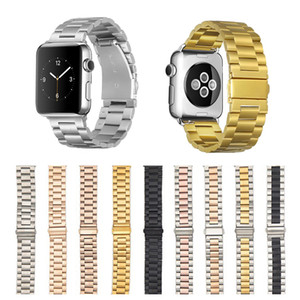 ingrosso banda orologio da melo inossidabile-Cinturino in acciaio inox in acciaio inox per Apple Watch Series SE IWATCH Accessori Braccialetto cinturino mm
