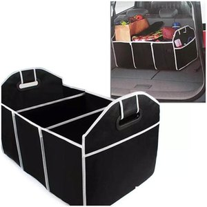 Wholesale car interior toys resale online - Foldable Car Storage Boxs Bins Trunk Organizer Toys Food Stuff Storage Container Bags Auto Interior Accessories Case Can Fba Ship Dpwgu