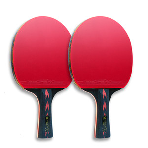 Wholesale table tennis long pimple rubber for sale - Group buy Huieson Star Table Tennis Racket Sets Ping Pong Rackets Long Handle Short Handle Double Face Pimples in Rubbers with Bag