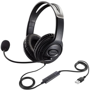 Wholesale call center resale online - USB PC Headphone with Mic Wired Gaming Headsets Call Center Traffic Earphone for Kids Study High Quality Microphone Headband Computer Games