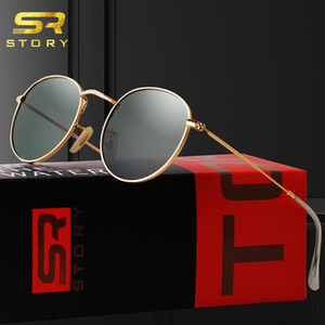 Wholesale story sunglasses for sale - Group buy STORY Small Round Sunglasses Polarized Women Men Brand Design Fashion Trendy Vintage Glasses Cool Beach Sun Shade Female