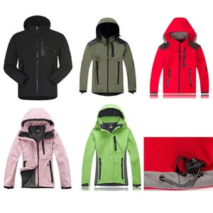 Women & Men's Waterproof Breathable Softshell Jacket Men Outdoors Sports Coats Women Ski Hiking Windproof Winter Outwear Soft Shell jacket