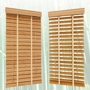 Wholesale shutters for windows for sale - Group buy Bamboo Venetian Blinds mm Slat Customized Size Window Shutters For Home Decoration T200718
