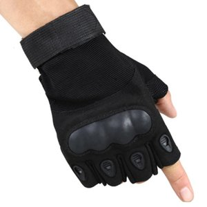 Wholesale sticky fingers for sale - Group buy heated warm thermal forces tactical without fingers handschoenen gloves sticky man sitk leather sports half