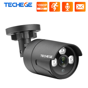 Wholesale outdoor motion detection ip cameras for sale - Group buy Techege H P IP Camera Audio record RTSP FTP Onvif HD MP Waterproof Outdoor Motion Detection DC V or V PoE Optional