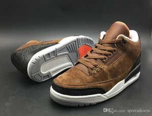 zapatos café al por mayor-Descuento Custom Jth NRG Coffee Brown Black White Designer Baloncesto Shoes Comfort III Justin Timberlake Luxury Sports Sports Sports With Box