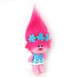Wholesale magic girl figures for sale - Group buy Trolls Doll cm Soft Plush Poppy Branch Magic Fairy Hair Wizard Troll Anime Figure Girls Toys Y1221