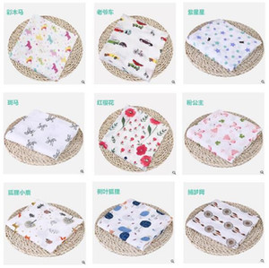 Wholesale beds for boys for sale - Group buy Cotton Flamingo Rose Fruits Print Muslin Baby Blankets Bedding Infant Swaddle Wrap Towel For Boys Girls Swaddle Blanket Gifts KKE4040