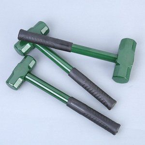 Wholesale sledge hammers resale online - 2lb lb lb steel handle hammer Sledge hamme martillo octagonal For Wood Working Square Head Construction Hammer Multi tool uuOk