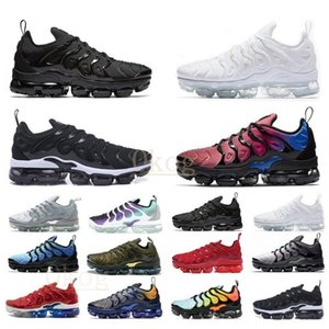 Wholesale shoes mens sale resale online - Preferential sale tns plus Ultra Running Shoe Zebra Classic Outdoor Run tn cushion shoes Sport Shock runner Sneakers Mens requin