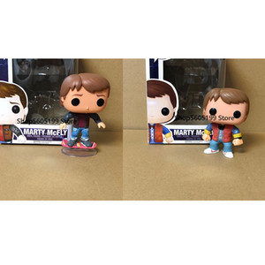Wholesale pop figures resale online - BACK TO THE FUTURE Marty McFly POP Figure Toys Collection model toy gift with box