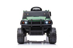 Wholesale truck vehicles resale online - Ride on UTV with Trailer12v Rechargeable Battery Agricultural Vehicle Toy with Speed USB Bluetooth Audio Electric Rugged Truck W42220809