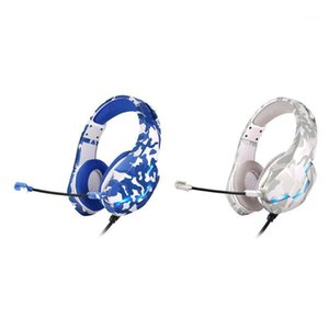 Wholesale game headsets for sale - Group buy New Computer Wired Headset Camouflage PS4 One Game Video Game Music Headset1