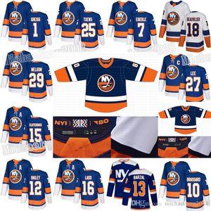 Islanders 2020 Reverse Retro Mathew Barzal Derick Brassard Brock Nelson Bailey Beauvillier Lehner Eberle Anders Lee Pulock Jerseys