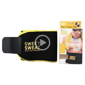 Wholesale sweet sweat resale online - SLVC Sweet Sweat Prem Waist Trimmer Men Women Belt Slimmer Exercise Ab Waist Wrap with color retail box