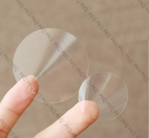 Wholesale transparent label stickers for sale - Group buy 2000Pcs Transparent Round Labels Clear Sticker Self Adhesive Label Stickers cm cm cm Small Clear packaging Sealing Labels