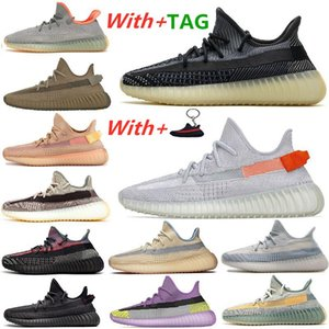 2020 New Kanye West BIG SIZE 13 Men Women Running Shoes Tail Light Zyon Zebra Cinder Yecheil Israfil Asriel Clay Linen Trainers sneakers
