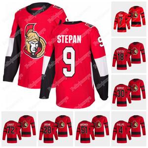 Ottawa Senators 2020-21 Reverse Retro Jersey Brady Tkachuk Derek Stepan Tim Stuetzle Thomas Chabot Matt Murray Bobby Duclair Craig Anderson